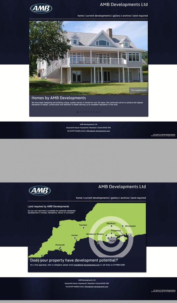 website design for Dorset company