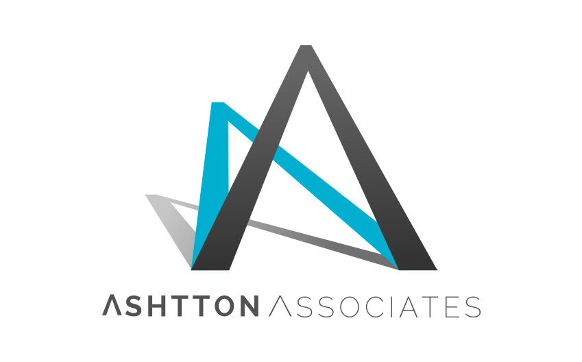 Logo designed for Ashtton Associates new business based in Hampshire