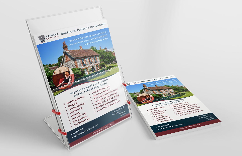 Flyer & leaflet design in Dorset