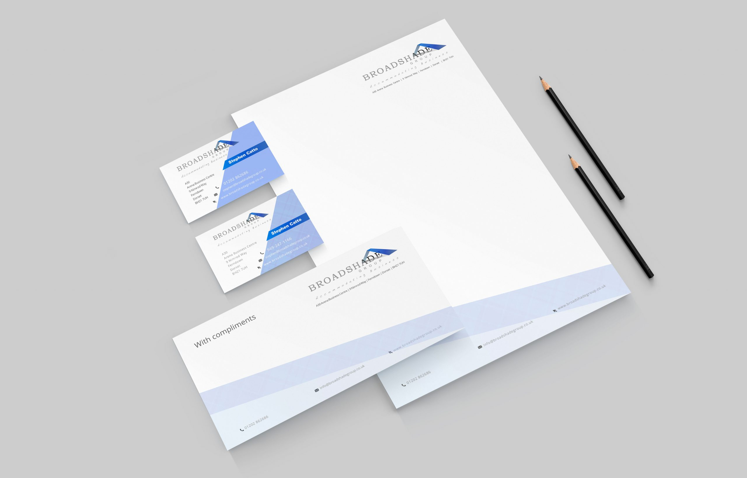 Custom Stationery Design in Dorset