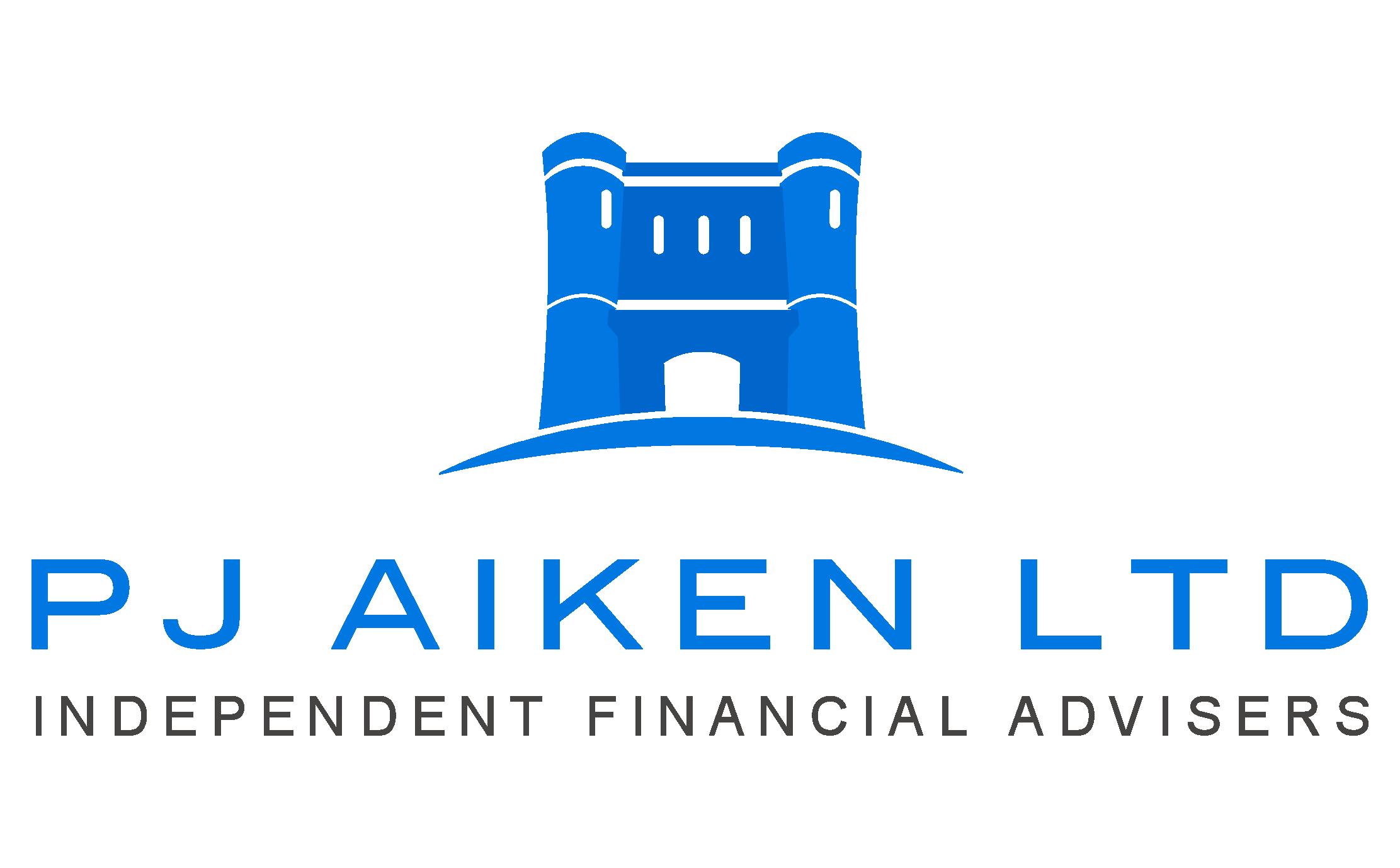 Logo designed for PJ Aiken in Dorchester, Dorset