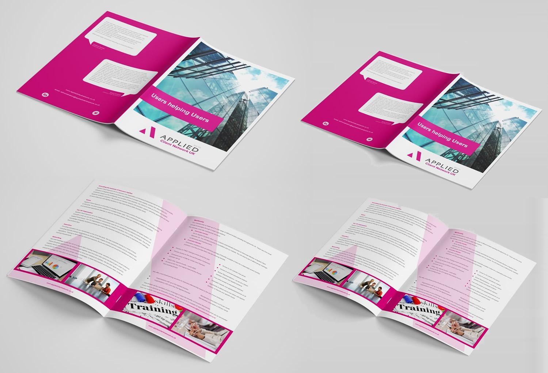 Brochure design for Dorset Client