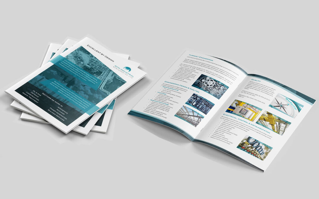 A4 Brochure Design in Dorset