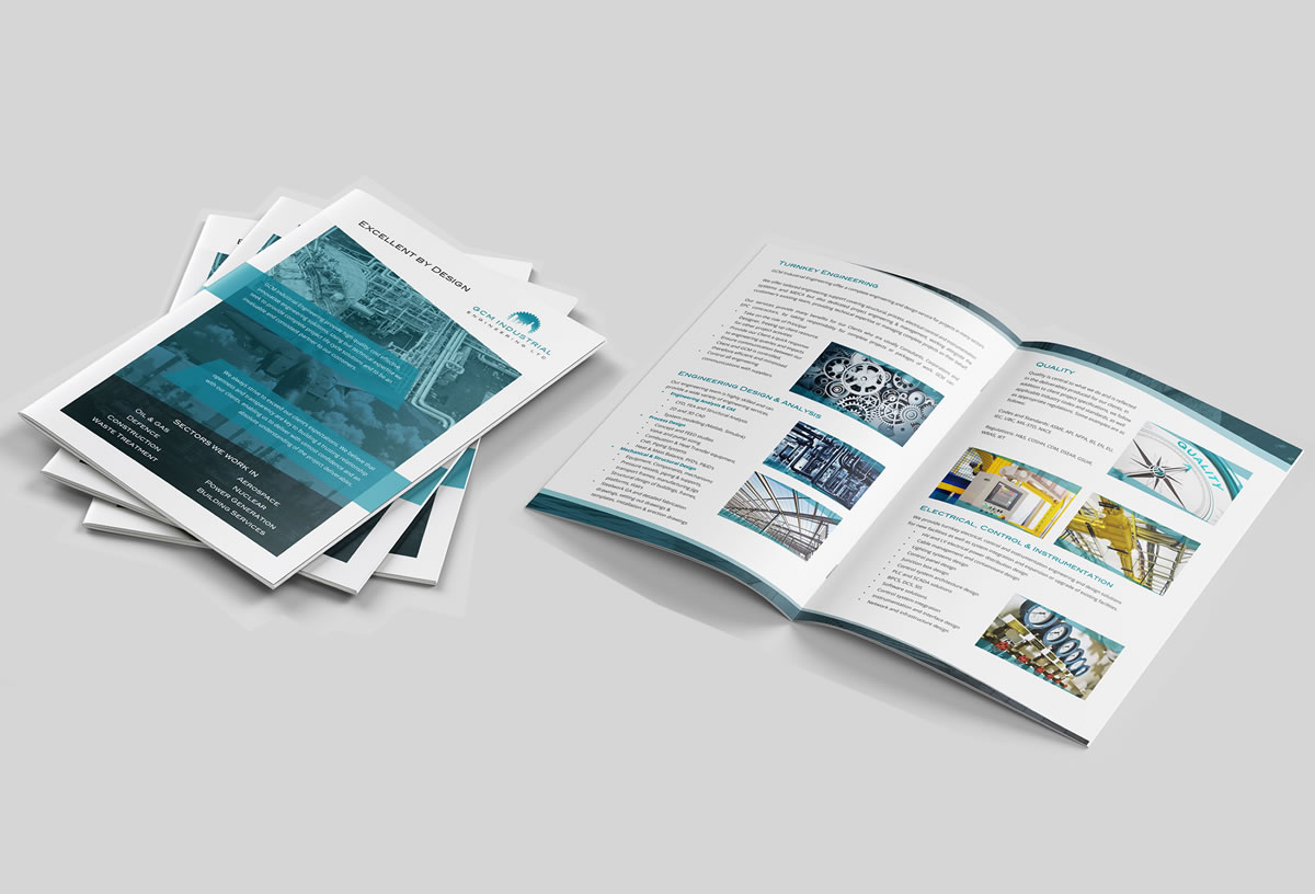 A4 Brochure design and creation